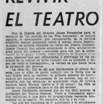 1976 - Teatro Independiente Caracol - El Sur 28 nov 1976 - Biblioteca Nacional