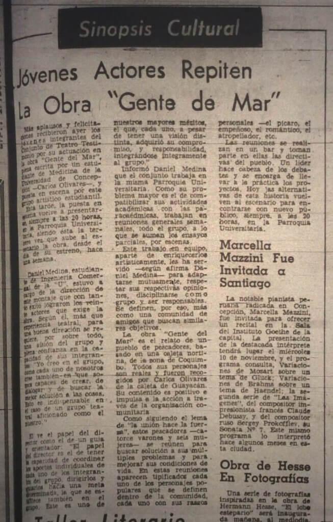 1977 - Gente de mar - El Sur