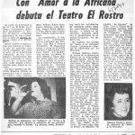 1978 - Amor a la africana - El Sur 25 de noviembre - Biblioteca Nacional