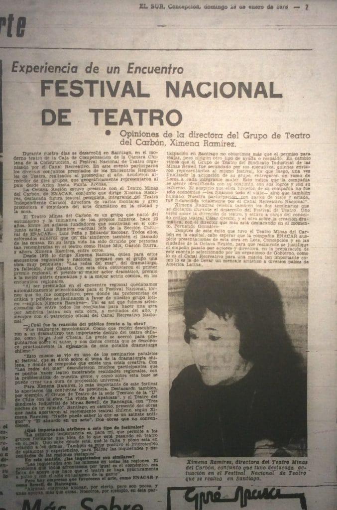 1978 - Las redes del mar - El Sur 29 de enero