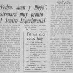 1980 - Pedro Juan y Diego - La discusión 1 de octubre