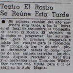 1980 - Trilogía de tres y de uno - El Sur 14 de marzo
