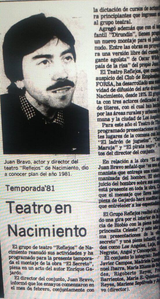 1981 - El secreto - El Sur 25 de marzo