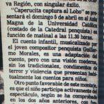 1981 - Caperucita captura el lobo - El Sur 3 de marzo