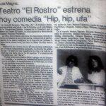 1981 - Hip hip ufa - El Sur 10 de octubre