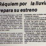 1981 - Réquiem por la lluvia - El Sur 16 de mayo