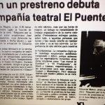 1981 - Réquiem por la lluvia - El Sur 21 de mayo
