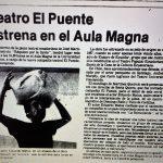 1981 - Réquiem por la lluvia - El Sur 28 de mayo