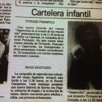 1982 - Caperucita en el mundo de los remolinos - El Sur 2 de mayo