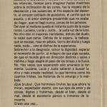 1982 - Las Brutas - Interior presentación - Gentileza de Compañía de Teatro El Rostro