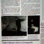 1982 - Una lección de pantomima - El Sur 23 de septiembre