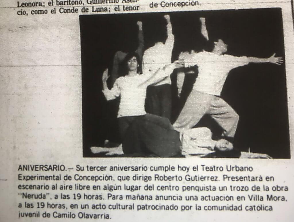 1983 - Neruda - El Sur 21 octubre