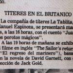 1983 - Juan y los porotos mágicos - El Sur 19 de abril