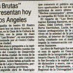 1983 - Las brutas - El Sur 10 de febrero