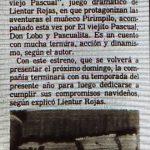 1984 - Rescatamos al viejo Pascual - El Sur 1 de diciembre
