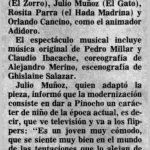 1985 - Pinocho - El Sur 9 de noviembre - Biblioteca Nacional