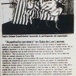 1986 - Auschwitz carretera - El Sur 14 de diciembre