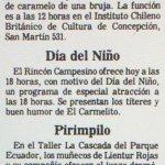 1986 - Caperucita castiga al lobo - El Sur 03 de agosto