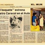 1986 - El boquete - El Sur 15 de enero - Biblioteca Nacional
