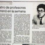 1986 - La propuesta matrimonal - La fablilla del secreto bien guardado - El Sur 12 de octubre