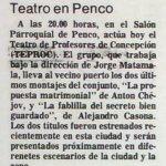 1986 - La propuesta matrimonal - La fablilla del secreto bien guardado - El Sur 31 de octubre