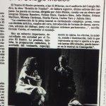 1986 - Retablo de Yumbel - El Sur 14 de septiembre