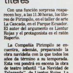 1986 - La navidad de Zalagarda - El Sur 23 de noviembre