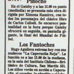 1986 - La suerte de don ratón - El Sur 29 de junio