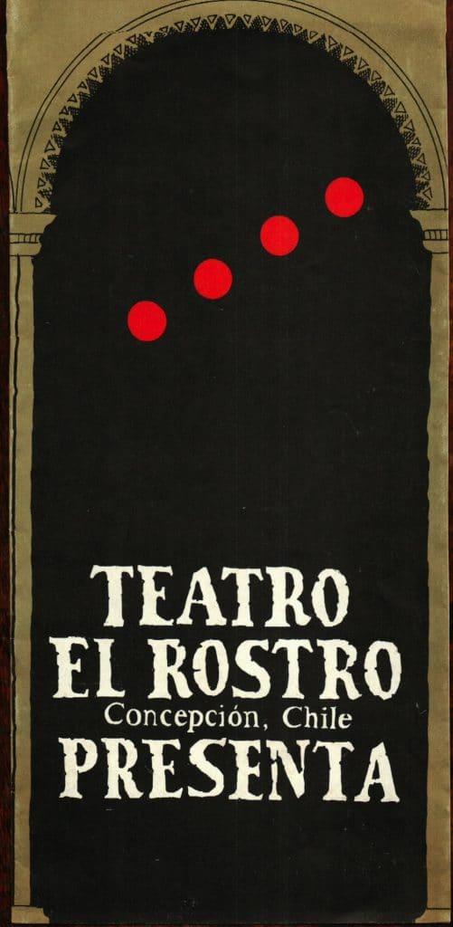 1986 - Retablo de Yumbel - Portada II - Gentileza de Compañía de Teatro El Rostro