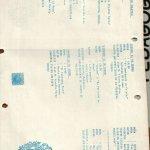 1987 - Programa 1er Encuentro de Teatro del Sur - interior - Gentileza del Colegio de Profesores