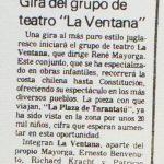 1987 - La Plaza de Tarantatú - El Sur 11 de febrero