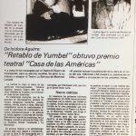 1987 - Retablo de Yumbel - El Sur 13 de febrero