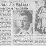 1988 - Testimonio sobre las muertes de Sabina - El Sur 3 de noviembre - Biblioteca Nacional
