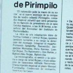 1988 - El ratoncillo pide la mano de su novia - El Sur 8 de septiembre
