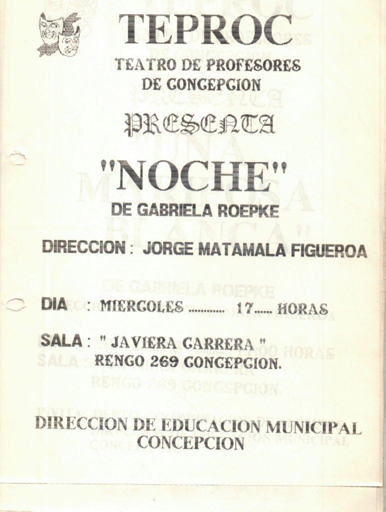 1989 - Noche - Gentileza del Colegio de Profesores