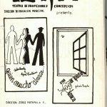 1989 - Quien mucho abarca - Una mariposa blanca - Gentileza del Colegio de Profesores