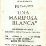 1989 - Una mariposa blanca - Gentileza del Colegio de Profesores