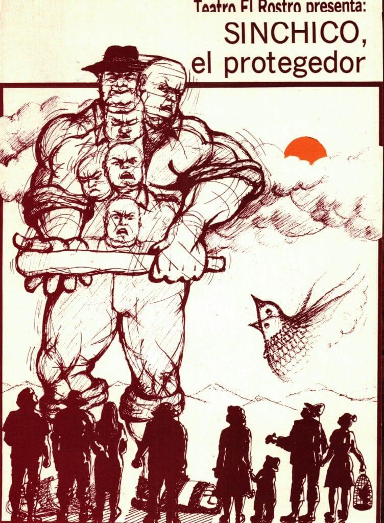 1989 - Sinchico el protegedor - portada - Gentileza de Compañía de Teatro El Rostro
