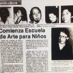 1987 - Escuela de arte para niños - El Sur