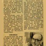 Enrique Gajardo - La tercera 3 julio 1986 - Biblioteca Nacional