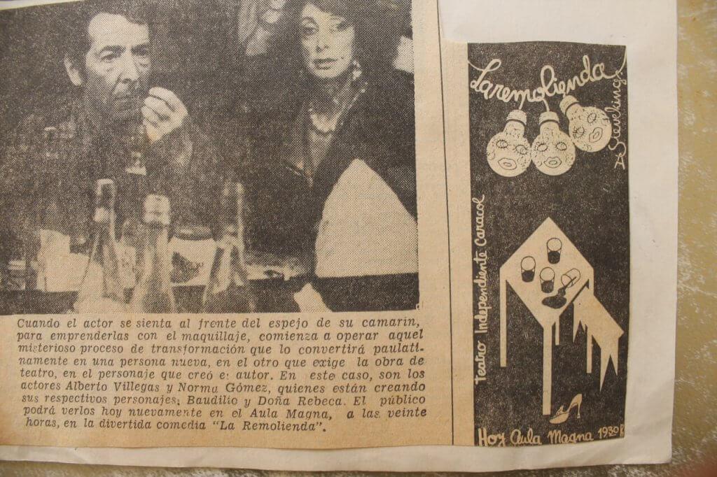 1978 - La Remolienda - El Sur - Gentileza de Berta Quiero