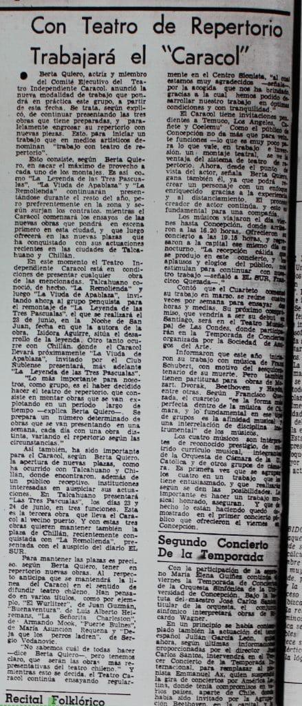 1978 - La remolienda - El Sur 06 junio