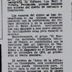 1978 - Teatro el rostro fue declarado compañía nacional - El Sur 1 de septiembre