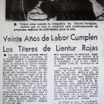 1980 - 20 años de Pirimpilo - El Sur 11 de marzo