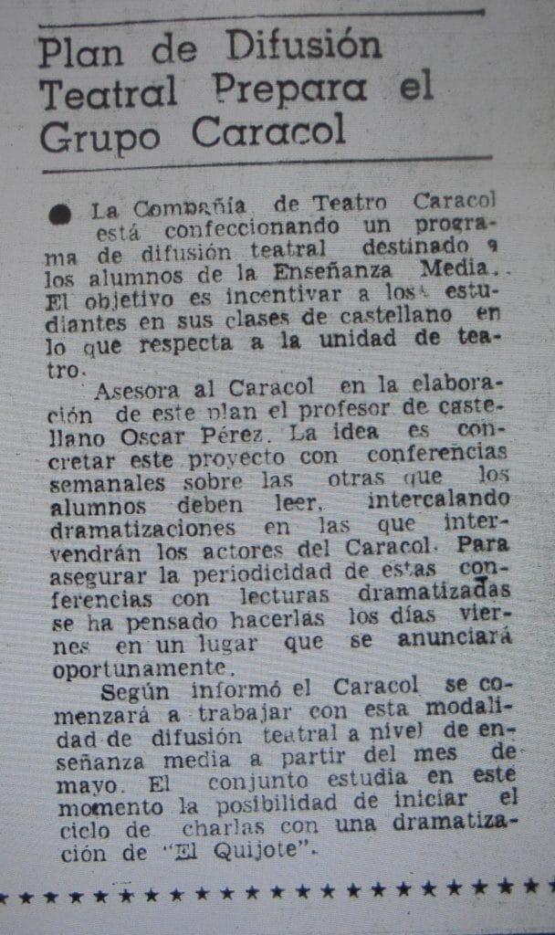 1980 - El Quijote - El Sur 13 de marzo
