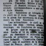 1980 - Trilogía de tres y de a uno - El Sur 22 de febrero