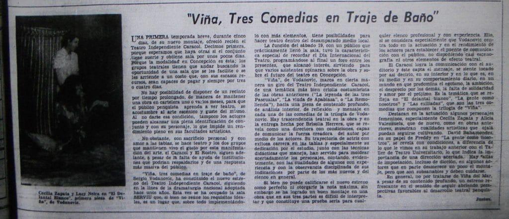 1980 - Viña - El Sur 23 de abril