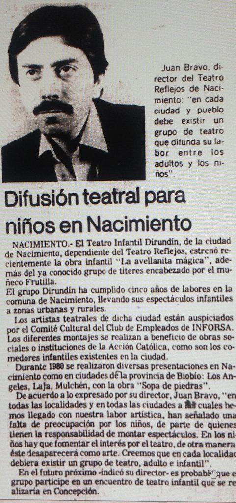 1981 - Dirundín - El Sur 23 de junio