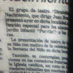 1981 - Dirundín - El Sur 24 de octubre