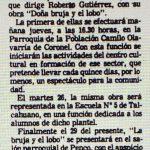 1981 - Doña Bruja y el lobo - El Sur 20 mayo